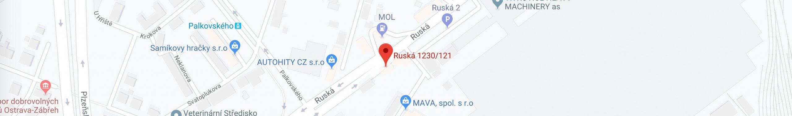 ruska 1230 ostrava vitkovice penzion padre